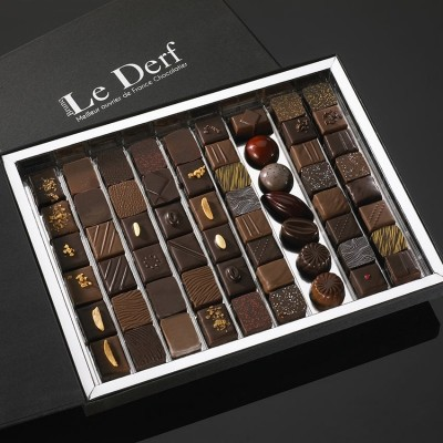 ETABLISSEMENT BRUNO LE DERF Chocolatier Rennes Grande Boite 0