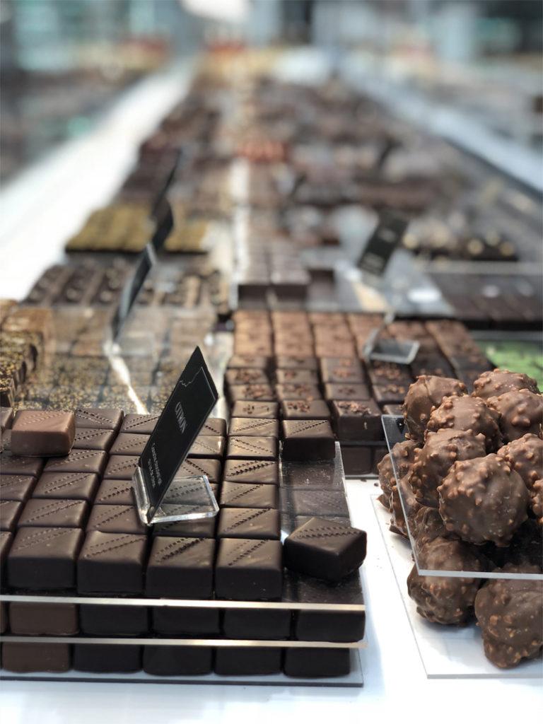 Etablissement Bruno Le Derf Chocolatier Rennes Aa
