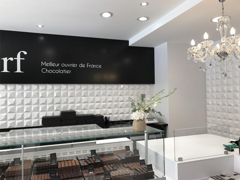 Etablissement Bruno Le Derf Chocolatier Rennes D