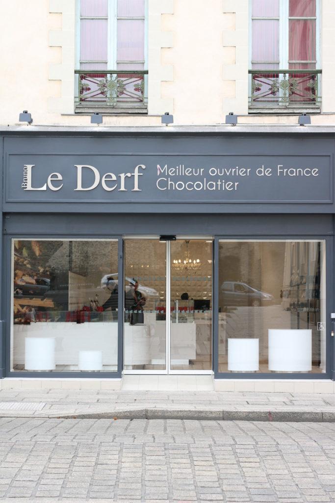 Etablissement Bruno Le Derf Chocolatier Rennes Dddd