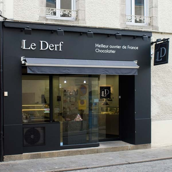 Etablissement Bruno Le Derf Chocolatier Rennes Vannes1