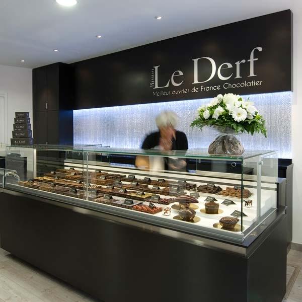 Etablissement Bruno Le Derf Chocolatier Rennes Vitre1