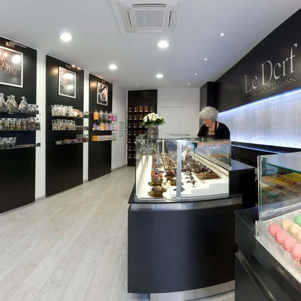 Etablissement Bruno Le Derf Chocolatier Rennes Vitre2