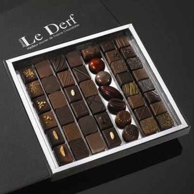 Etablissements Bruno Le Derf Chocolatier Rennes ETABLISSEMENT BRUNO LE DERF Chocolatier Rennes Boite Moyenne 0